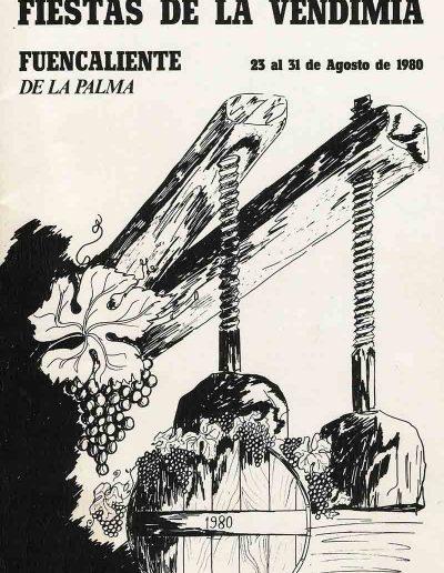 Fiesta de La Vendimia. 1980