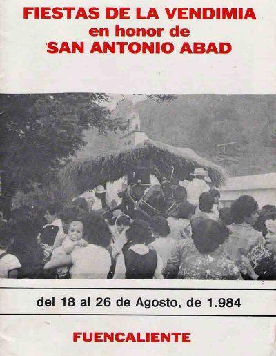 Fiesta de La Vendimia. 1984