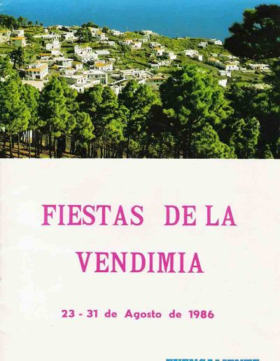 Fiesta de La Vendimia. 1986