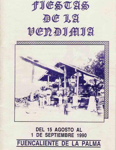 Fiesta de La Vendimia. 1990