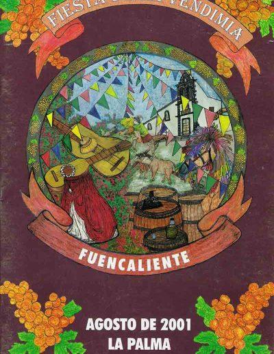 Fiesta de La Vendimia. 2001