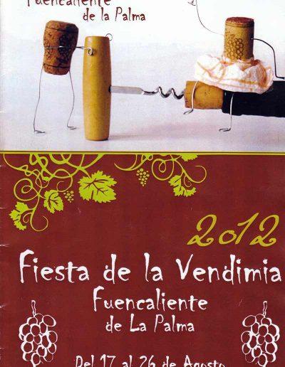 Fiesta de La Vendimia. 2012