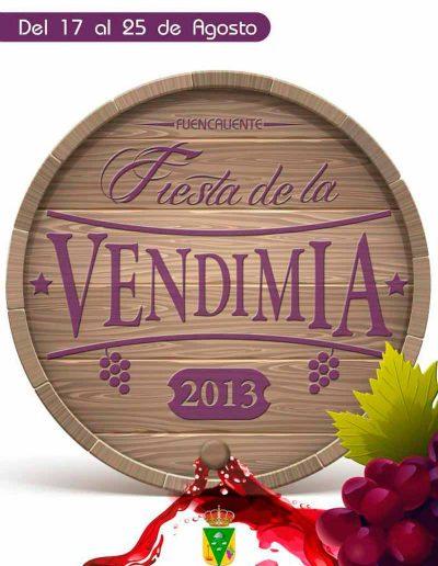 Fiesta de La Vendimia. 2013