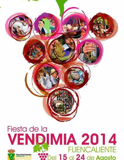 Fiesta de La Vendimia. 2014