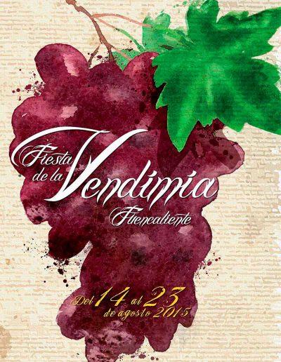 Fiesta de La Vendimia. 2015