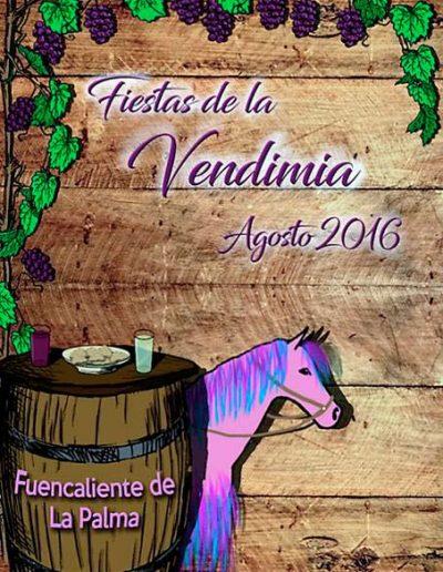 Fiesta de La Vendimia. 2016